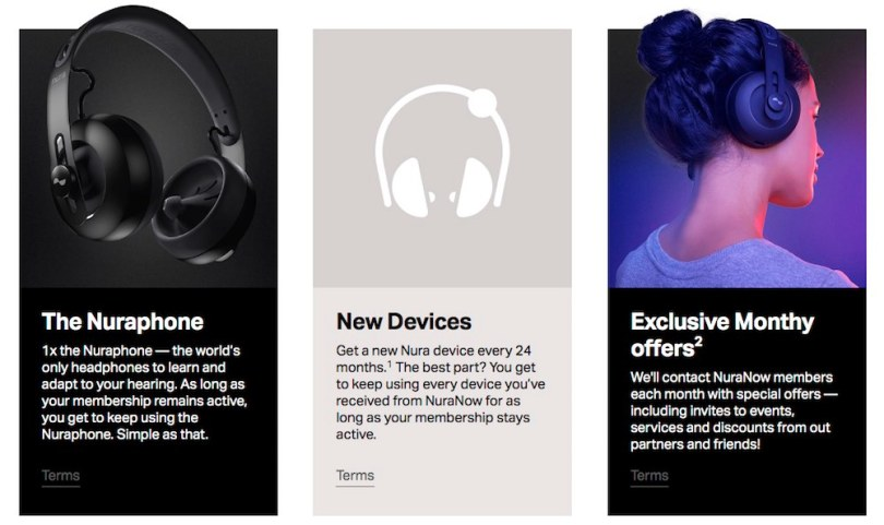 nuraphone subscription headphones