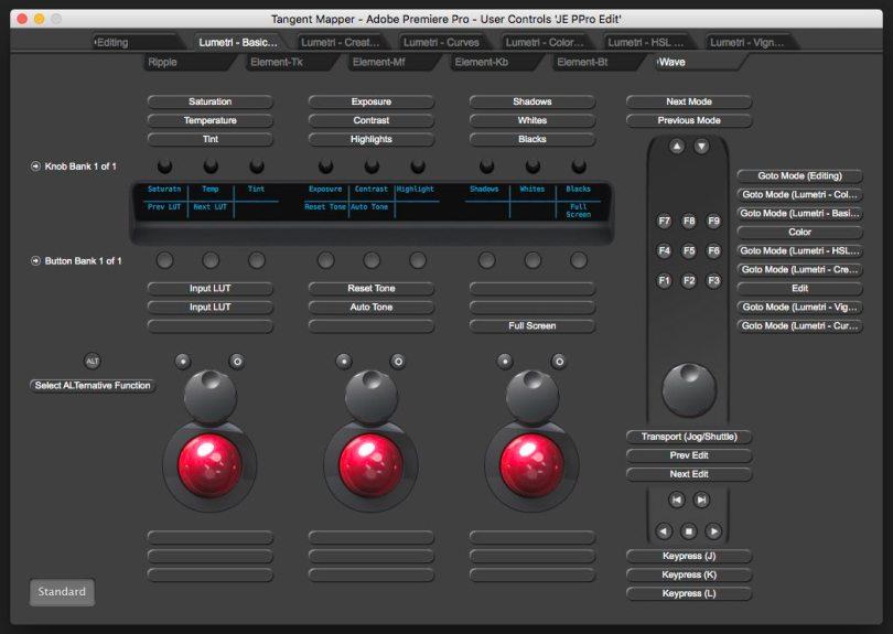 Tangent Mapper Premiere Pro