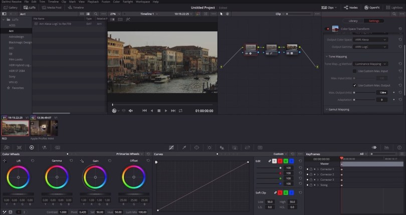 Understanding colour management in Davinci Resolve