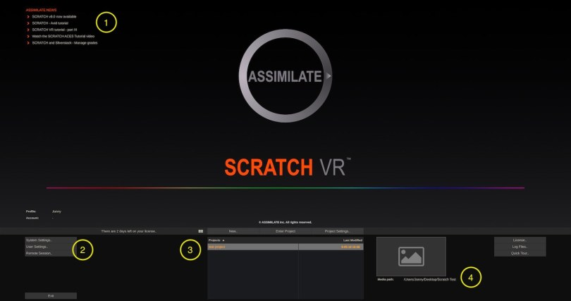 using assimilate scratch beginners guide