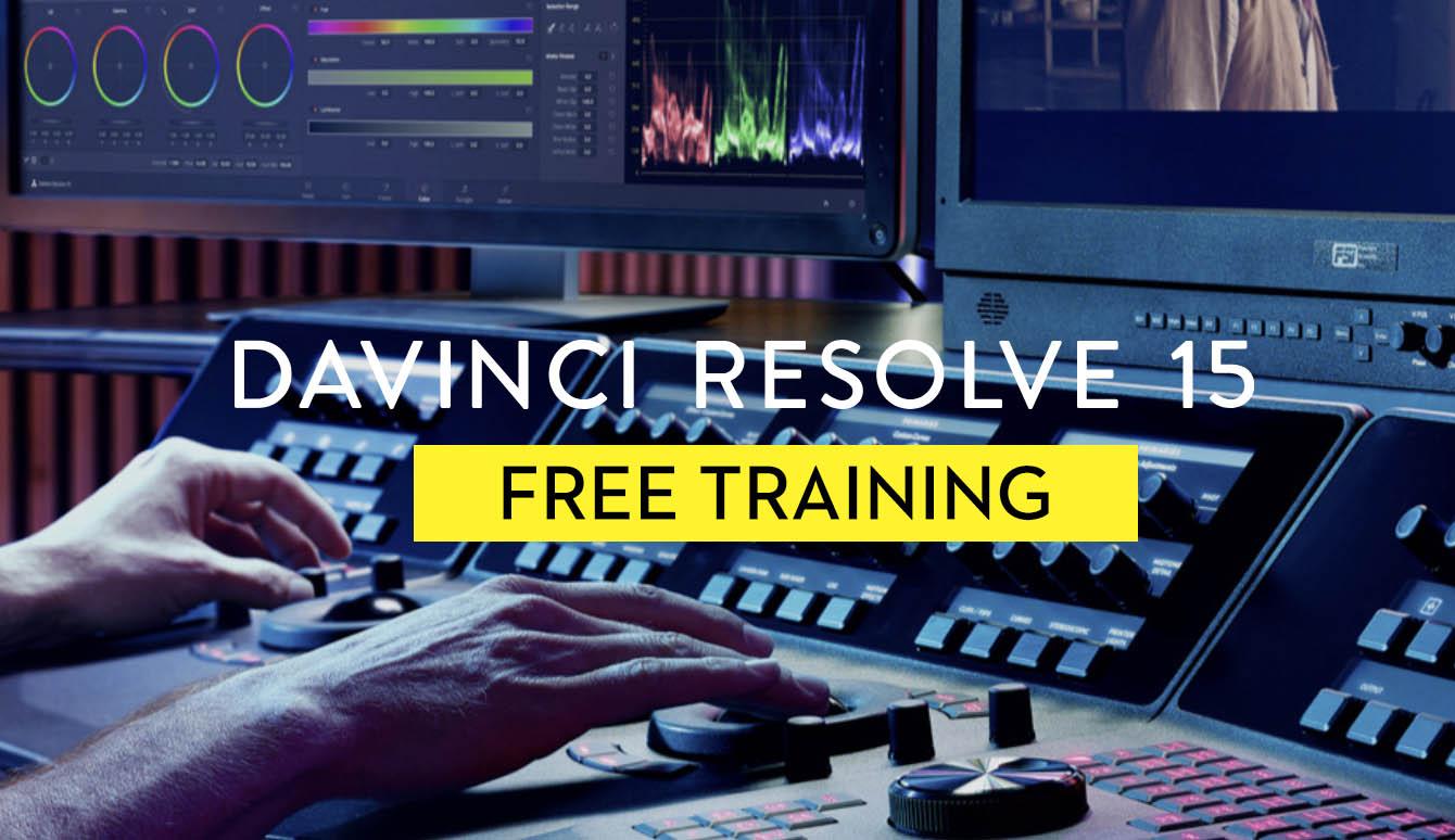 DaVinci Resolve 15 Free Training | Jonny Elwyn - Film Editor