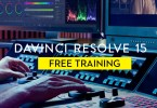 Free Davinci Resolve 15 online training
