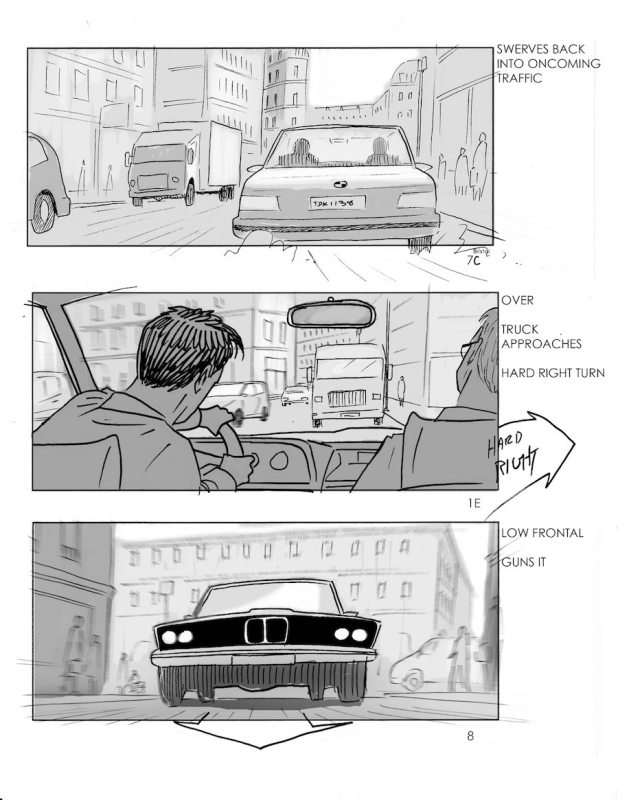 Mission Impossible Fallout Storyboards