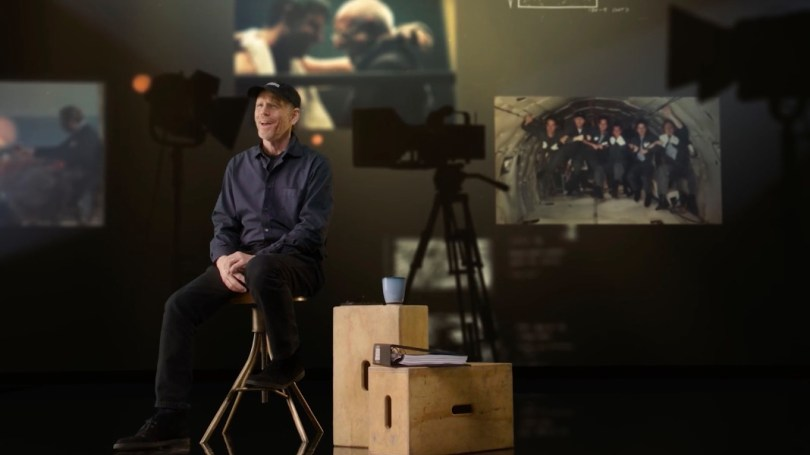 Ron Howard directing masterclass reviewed
