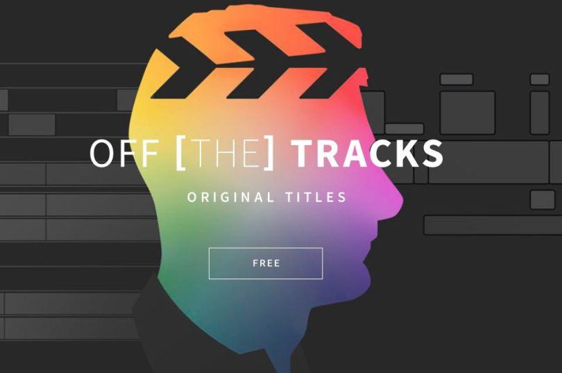 off the tracks fcpx movie promo code