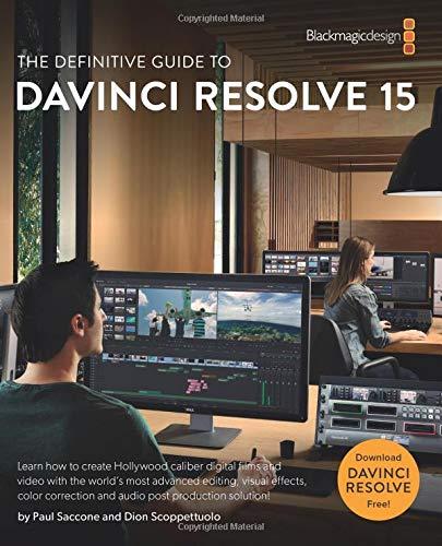 Davinci Resolve training books
