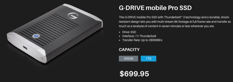 G-Tech Fast SSD
