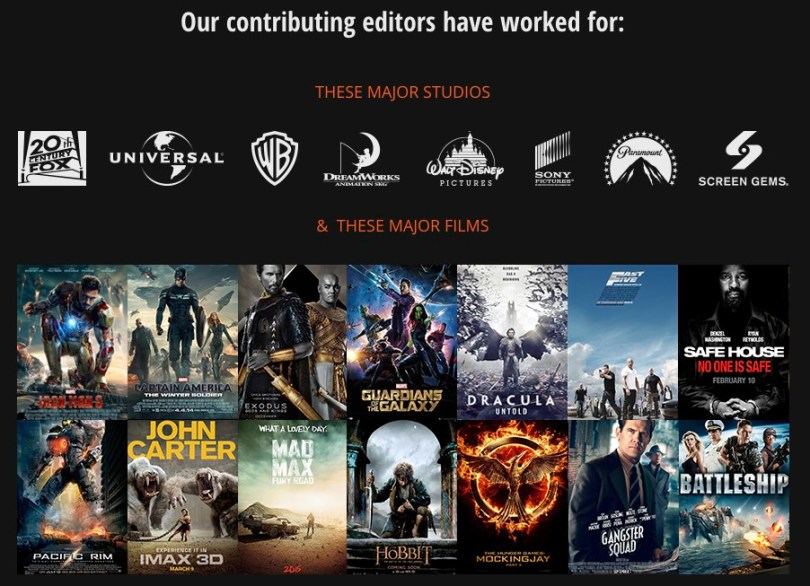 editors for film editing pro
