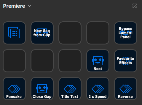 Premiere Pro Stream Deck Profile