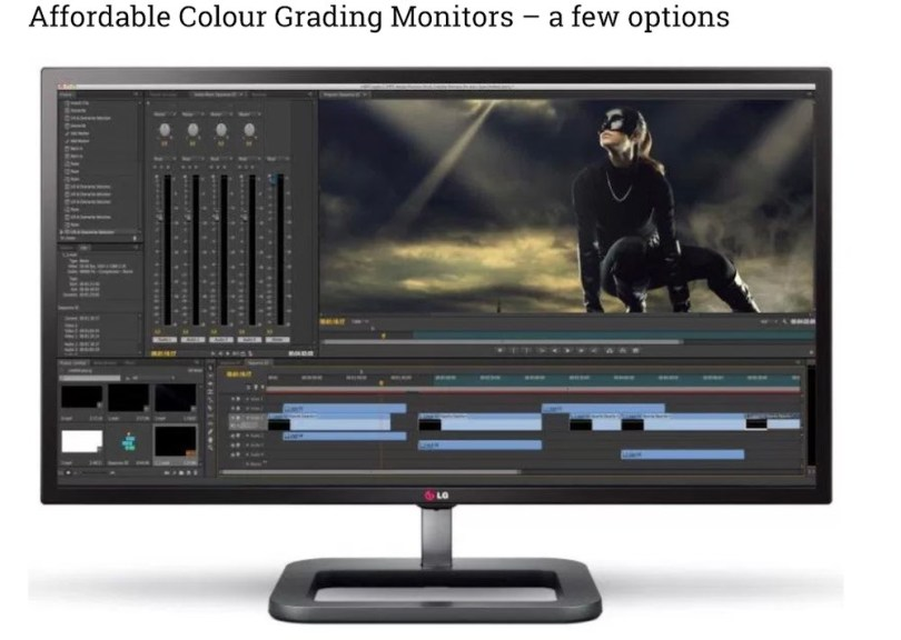 affordable colour grading monitors 2018