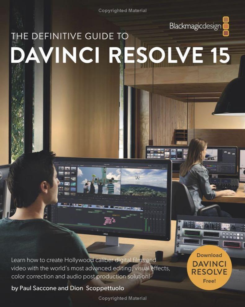 DaVinci Resolve 15 Training books