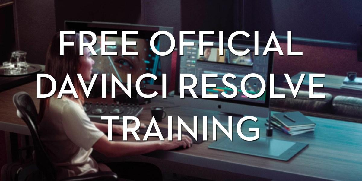 Official DaVinci Resolve 15 Training for Free | Jonny Elwyn - Film