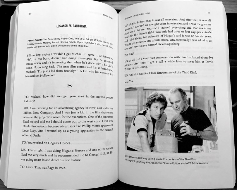 The making of a motion picture editor book review
