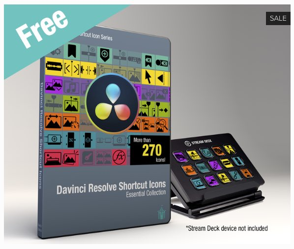 free stream deck icons for davinci resolve