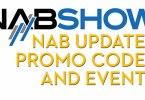 NAB 2019 Promo codes