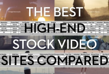 the best High End royalty free stock footage sites compared