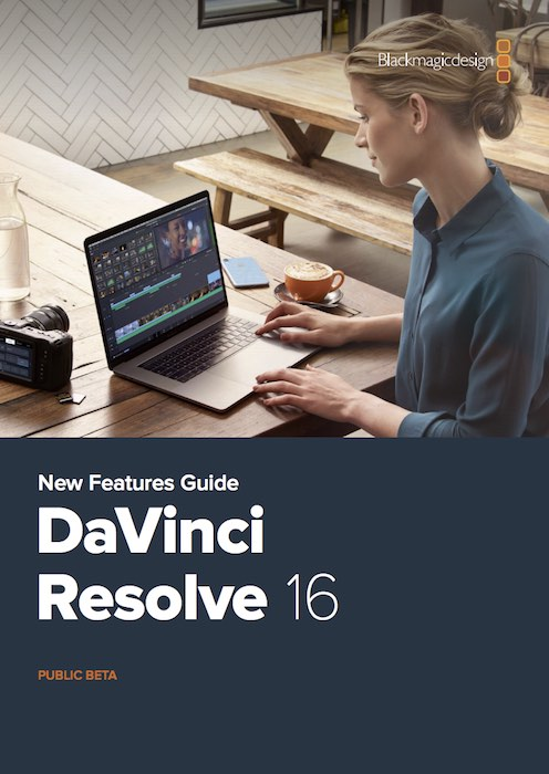 DaVinci Resolve 16 New Features PDF