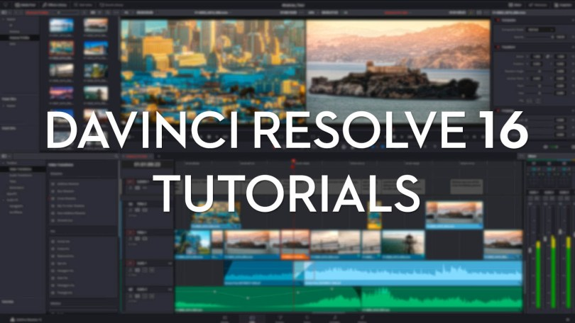 DaVinci Resolve 16 Tutorials