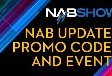 NAB show 2020 discounts, events, announcements