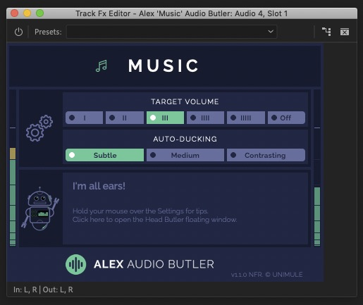 alex audio butler plugin review 2020