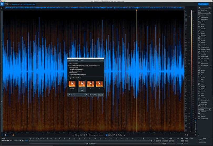 izotope RX7 advanced review