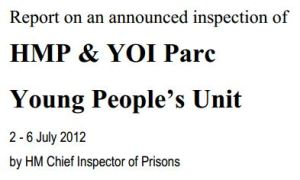 Parc inspection 2012