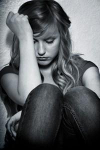 Image - girl worries