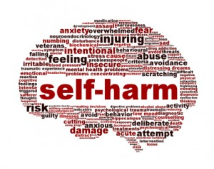 Self-harm: boys do it too…