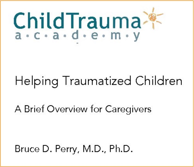 Helping Traumatised Children – A Brief Guide for Caregivers