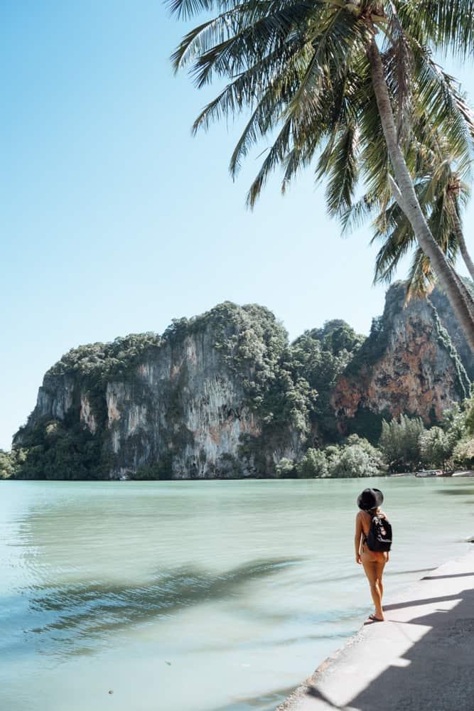 best beaches in krabi, tonsai beach, krabi beach, things to do in krabi, railay beach krabi, railay beach west, west railay beach, east railay beach, railay east beach, raliay viewpoint