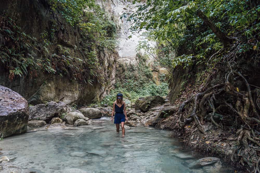 dao falls, dao falls cebu, dao waterfall, dao falls samboan, samboan falls, cebu waterfalls, south cebu