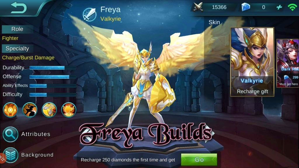 Panduan Mobile Legends Bang Bang – Hero Builds: Freya