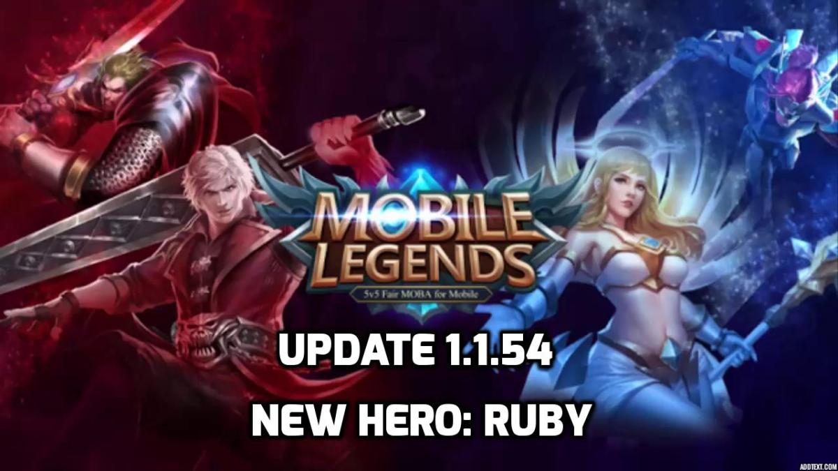 Update Mobile Legends Bang Bang 1.1.54 Perkenalkan Hero Baru, Ruby