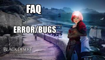 FAQ Permasalahan Patch Download & Install - Black Desert Online