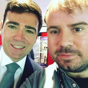 Jono and Andy Burnham