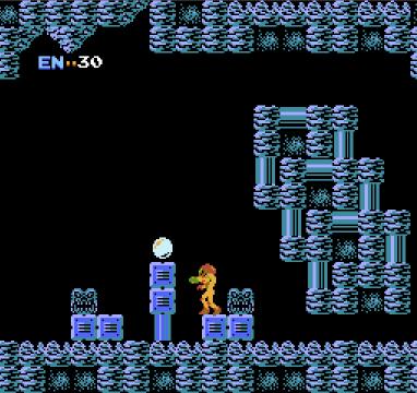 Metroid for NES, screenshot 3