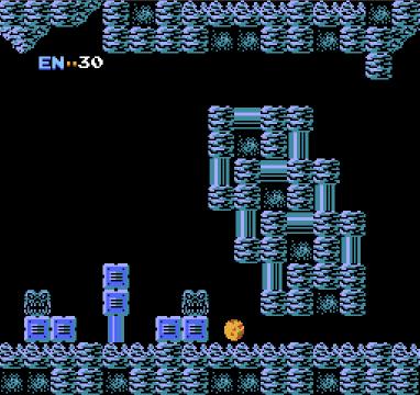 Metroid for NES, screenshot 4