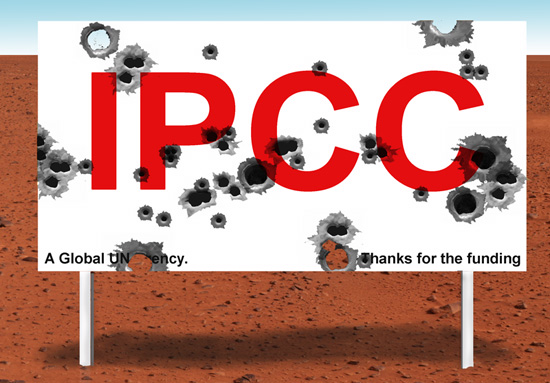 IMAGE: IPCC Shot to Pieces