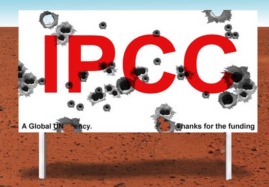 IMAGE: IPCC Shot to Pieces