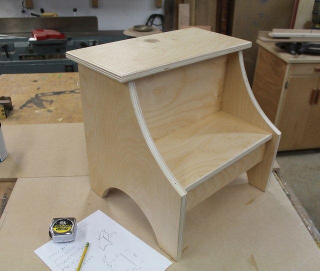 Simple Step Stool Free Design Plans