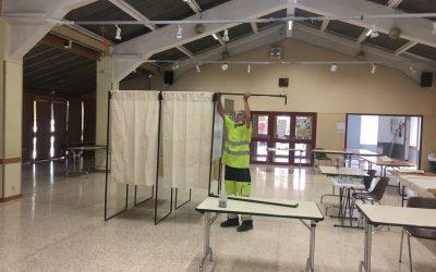 Les agents municipaux mobilisés pour les élections