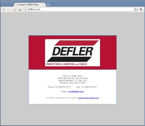 Defler's Digital Business Card