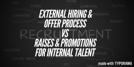 External Talent vs Internal Talent