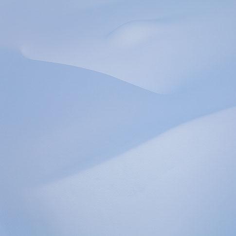 Snø i Blefjell, abstrakt