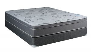 Continental Sleep Mattress Foam Encased 10 Inch Eurotop Pillowtop Fully Assembled Orthopedic Queen And