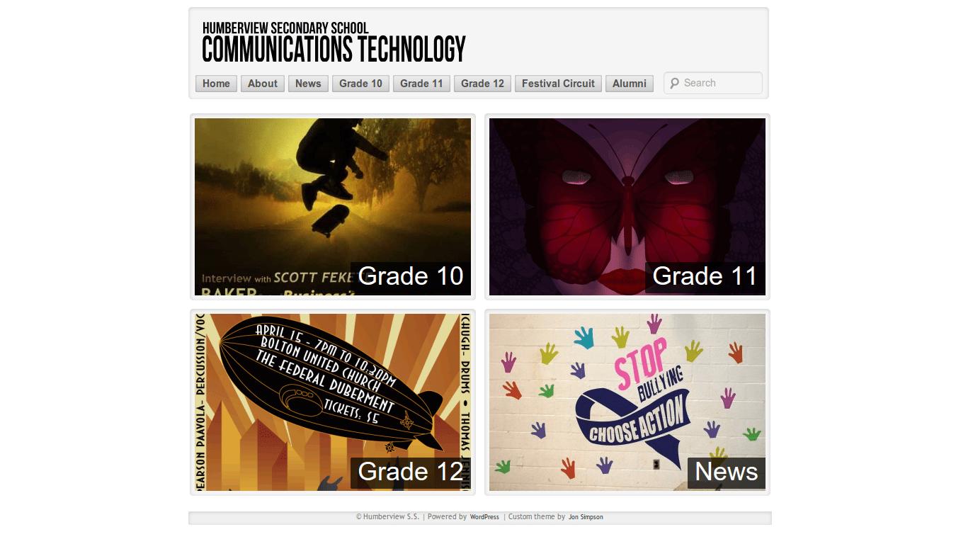 Communications Technology Homepage