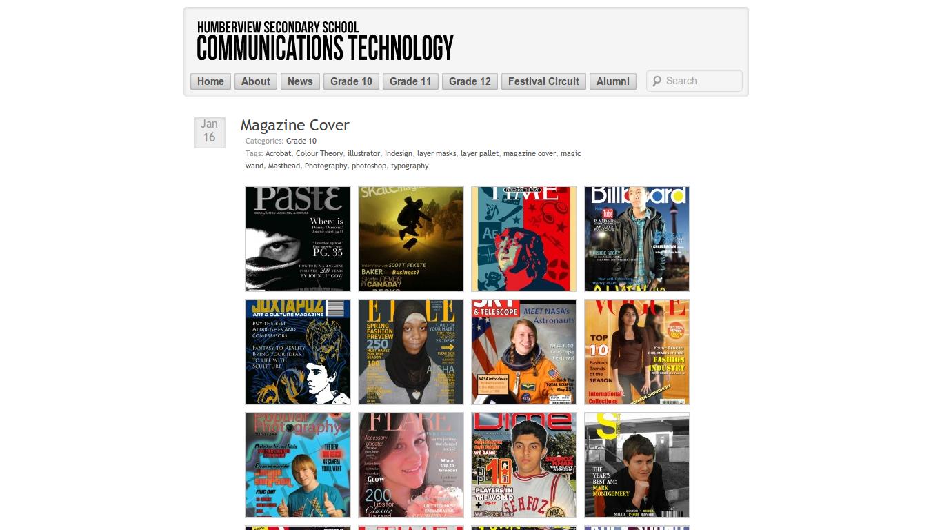 Communications Technology Post