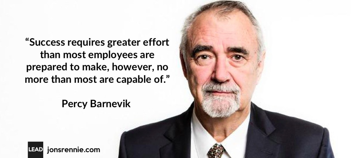 Barnevik on Leadership: Getting the Most out of your Team
