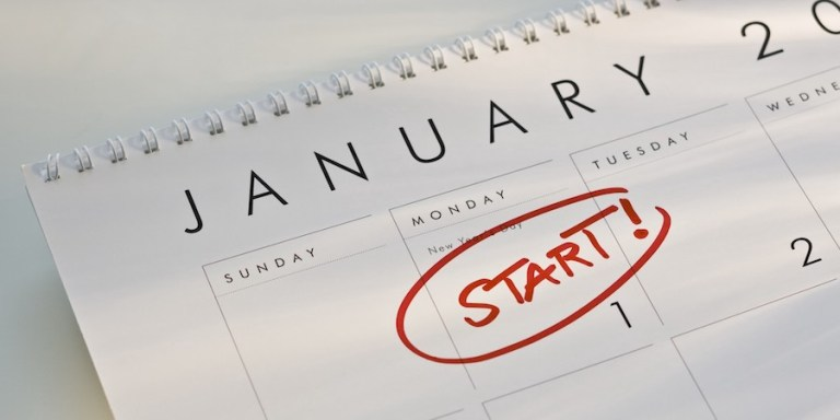 make new year's resolutions stick