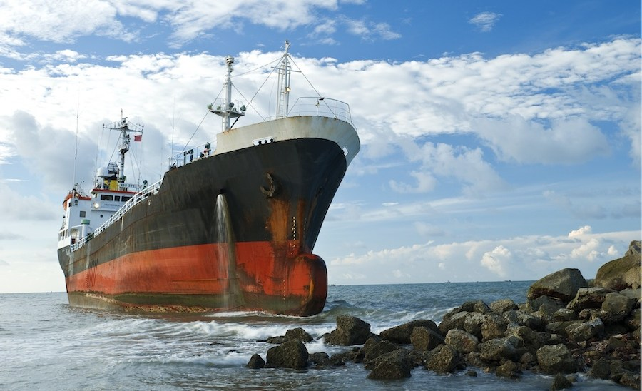 Why It's a Bad Idea to Run a Ship Aground